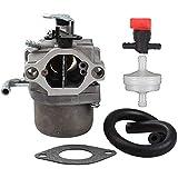 Bokie 590399 Carburador Carb para motor de cortacésped 796077 con junta de válvula de filtro de conducción de combustible