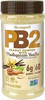 PB2 Vanilla Peanut Butter Powder - With Madagascar Vanilla, The Original Powered Peanut Butter [6.5oz Jar]