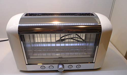 MAGIMIX TOASTER VISION IVORY WITH GRILL INCLUDED