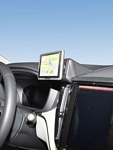 KUDA 6975 Console (Conduite à gauche) pour GPS Navi Volvo XC 60 à partir de 07/2017 en simili cuir noir