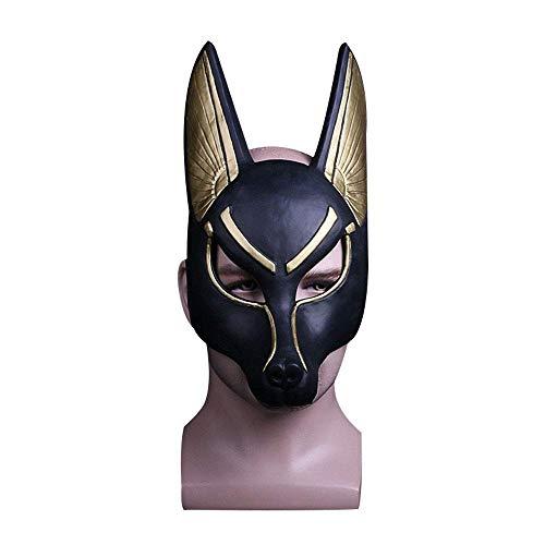 YaPin Dios patrono Egipcio, El Dios de la Muerte, Máscara de Anubis Máscara de Baile de máscaras Actuación