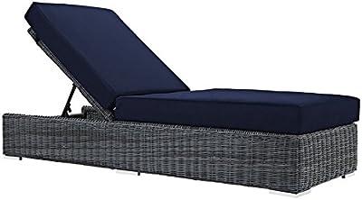 Amazon Com Sunnydaze Floating Chaise Lounger Outdoor
