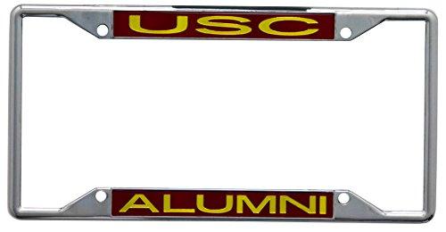 NCAA USC Trojans License Plate Frame Alumni