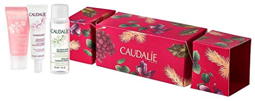 Caudalie Cracker Vinosource Creme Sorbet 15ml + Vinosource Serum SOS 10ml + Eau Micellaire Desmaquilhante 30ml