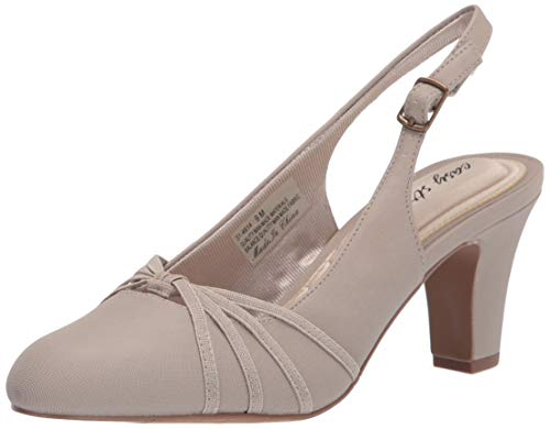 Easy Street Damen Intrigue Pumps, Leinen, Hellbeige, 42.5 EU