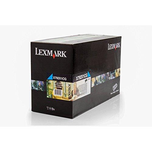 Cartuccia di Toner Compatibile Per Lexmark X 790Series Lexmark 00X 792X 1CG, 0X 792X 1CG, X792X 1CG–Premium cartuccia stampante–Ciano–20.000pagine