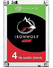 Seagate wewnętrzny dysk twardy Iron Wolf - żelazny wilk 4 TB srebro