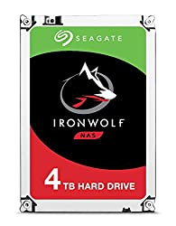 Image of Seagate 4TB IronWolf NAS SATA 6Gb/s NCQ 64MB Cache 3.5-Inch Internal Hard Drive (ST4000VN008): Bestviewsreviews