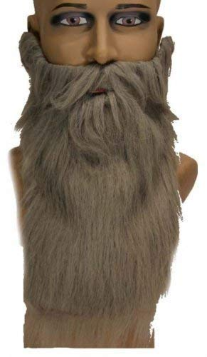 Barbe longue grise