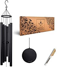 Vanquer Large Wind Chimes for Outside Deep Tone - 48'' Personalized Wind Chimes Memorial,Memorial Wind Chimes,Windchimes in Memory of a Loved One,Sympathy Wind Chimes for Mom Dad,Outdoor Patio Decor