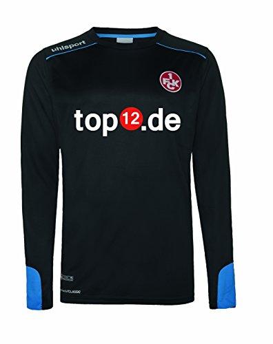 uhlsport Herren FCK GK Tower Trikot LA 16/17, Schwarz/Energy Blau, 128