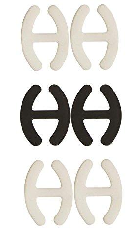 Accroches bretelles de soutien-gorge X6