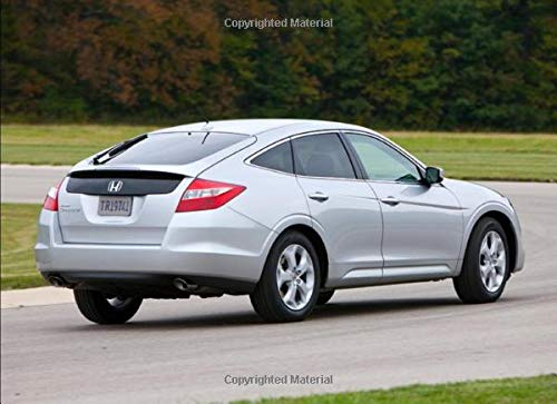 Honda Accord Crosstour: 120 pages with 20 lines you can use as a journal or a notebook .8.25 by 6 inches.