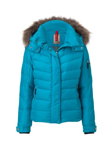 Bogner Fire + Ice Damen Jacke Sale-D, aquamarine, 44, 3473-P012
