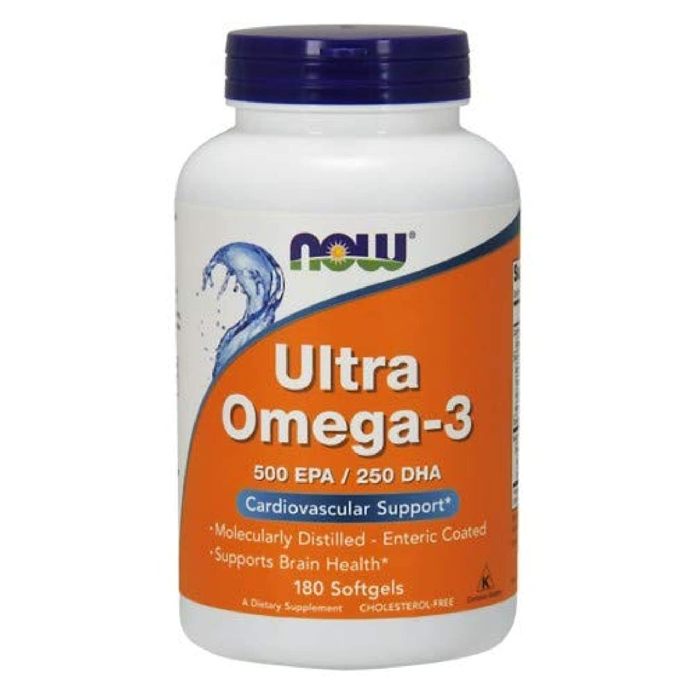 蓄積する重要性暖かさUltra Omega-3 180 sgels 3個パック
