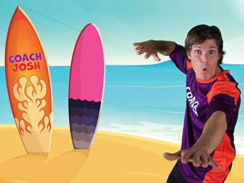 Surf Adventure for Children   Follow the Actions with Coach Josh   Kids Fitness