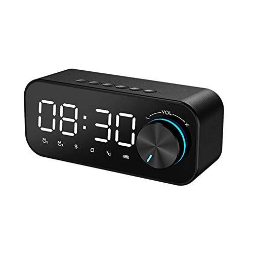 Barra De Sonido De Cine En Casa (Bluetooth, HDMI, ARC/CEC, Potencia De Salida Total Máxima: 3 W, 14.2 Cm), Color Negro, Barra De Sonido Compacta con Bluetooth, Negro, 142x42x60 Mm (Color : Black)