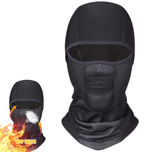 Balaclava Motorcycle Ski Face Mask Fleece Balaclavas Headwear Neck Warmer...