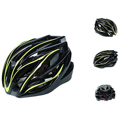 TOPEREUR Fahrradhelm für Erwachsene, Verstellbar Radhelm Damen Herren Helm mit EPS Körper + PC Schale, Atmungsaktiv Robust und Ultraleicht (56-62cm)
