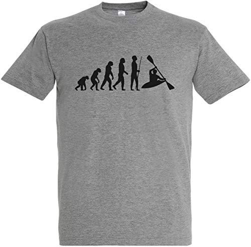 Herren T-Shirt Rafting Evolution S bis 5XL (XL, Grau)