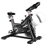 JOBUR Magnetic Exercise Bikes with Ipad Mount,Fitness Bike with Comfortable Seat...