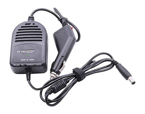 vhbw Cable de Carga, Coche Compatible con HP Compaq Presario CQ57, CQ58, CQ60, CQ61 portátil - Cargador 12V, 65W