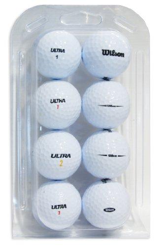 Tweede kans Wilson Ultra Kwaliteit Lake Golf Ballen (Grade A)