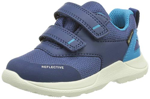 Superfit Baby-Jungen Rush Lauflernschuh, Blau (Blau/Blau 8010),22 EU