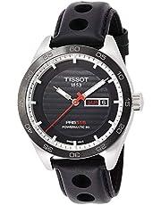 ساعة رجالية اوتوماتيكية t1004301605100 بي ا راس 516 من تيسوت