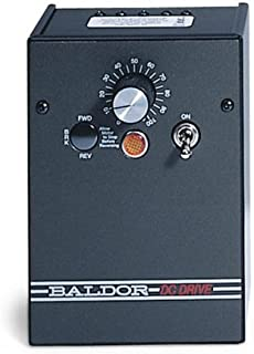 Baldor Electric, BC140-FBR, 0-90/0-180VDC, 1/2 HP, Nema 1, DC Drive