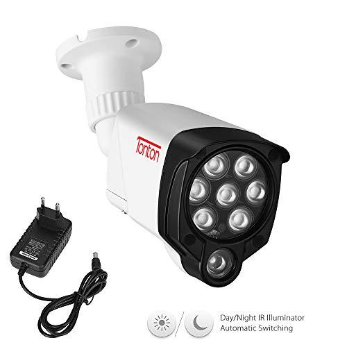 Tonton 8 LED IR-licht verlichtingslamp infrarood schijnwerper 30 m (100 ft) infrarood nachtzicht voor bewakingscamera extra licht videobewaking met 3M DC voeding voor binnen en buiten waterdicht