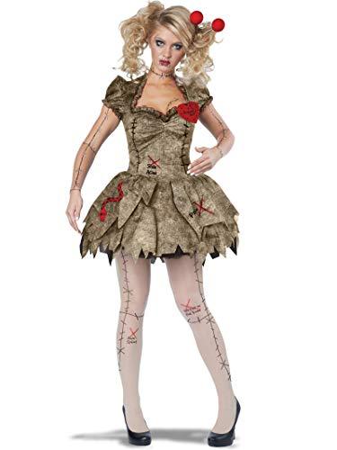 Women's Voodoo Dolly Costume