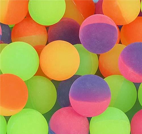 Rhode Island Novelty 38mm 1.5 Inch Icy Bounce Balls, One Dozen