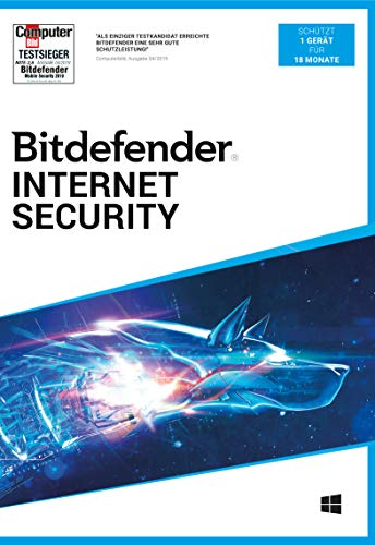 Bitdefender Internet Security 2021 1 Gerät / 18 Monate (Code in a Box)|Standard|1|18 Monate|PC|Download|Download