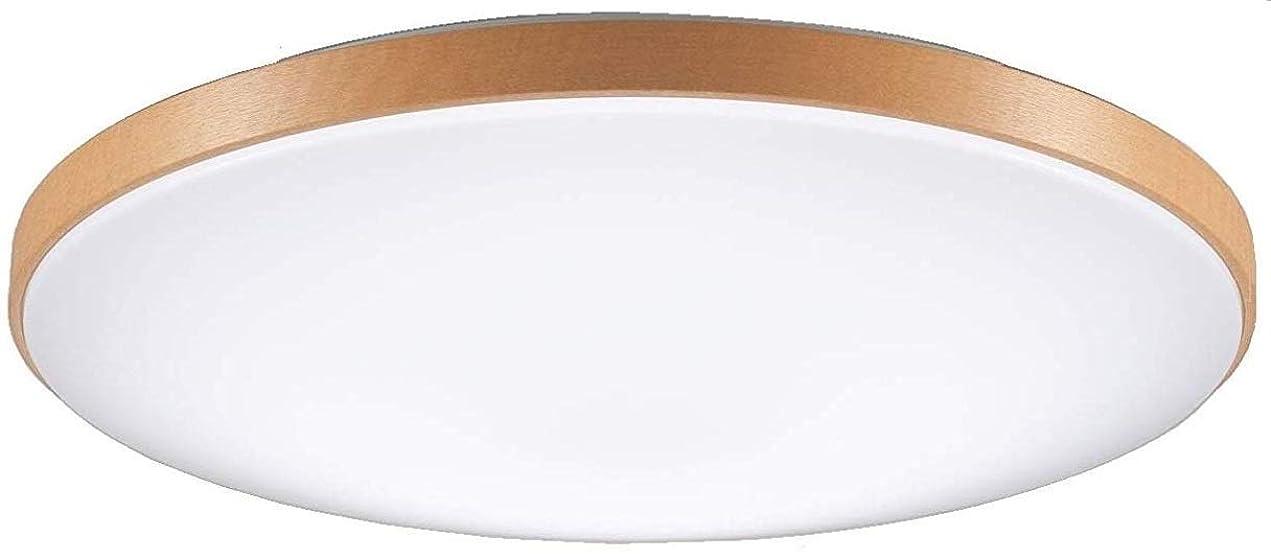 かかわらず緩むフロントパナソニック LEDシーリングライト 調光?調色タイプ リモコン付 ~12畳 ミディアムブラウン仕上 HH-CD1219AH