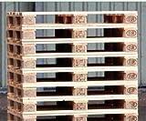 Schroth Home 10x EURO Palette 120 x 80 – Europalette EPAL 1 – fabrikneu – aus Nadelholz – direkt vom Hersteller