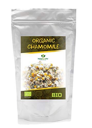 Té de manzanilla, flores secas de manzanilla, té de inflorescencia de hierbas orgánicas de matricaria chamomilla para infusión, 300 g