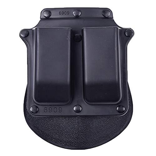 Gexgune Nueva Pistola de cinturón de Mano Derecha Accesorios de Caza tácticos Funda de Revista Doble 6909 para WP99 Airsoft CQB