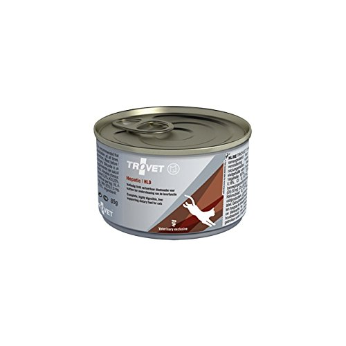 Trovet Hepatic HLD Katze - 24 x 85 g Dosen