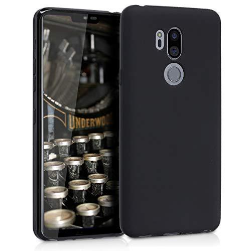 kwmobile Cover Compatibile con LG G7 ThinQ/Fit/One - Cover Custodia in Silicone TPU - Backcover Protezione Posteriore - Nero Matt