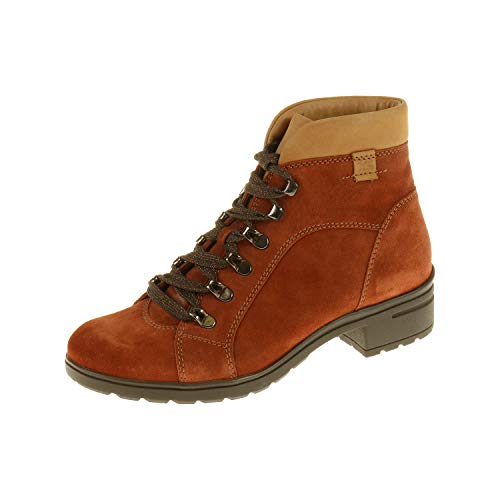 Hards, Ankle Boots XS Heel brede H Rost Cognac 557728053