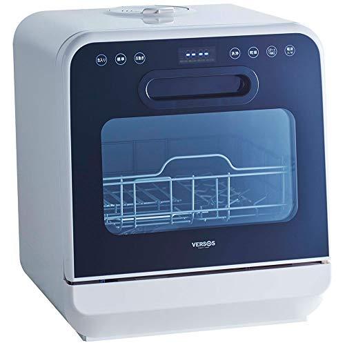 ベルソス 食器洗い乾燥機 工事不要 タンク式食洗機 液晶表示 IS-DW100 ホワイト