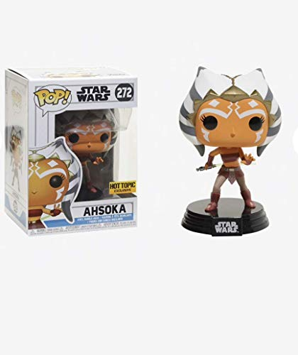 Pop! Star Wars Clone Wars - Figura de Vinilo Ahsoka Exclusive