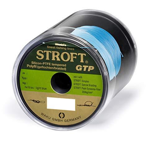 WAKU Schnur STROFT GTP Typ R Geflochtene 250m hellblau R4-0,220mm-9kg