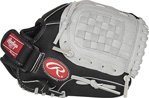Rawlings Sure Catch Series Youth Baseball Glove, Basket Web, 10.5 inch, Right Hand Throw
