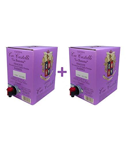 Barbera ( 5 Litri x 2 ) - Rosso - Bag in Box - Piemonte