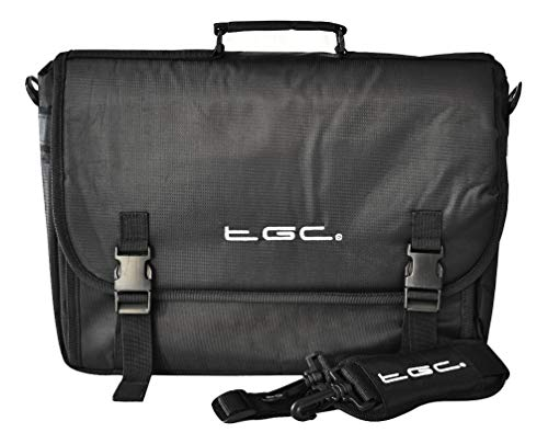 New Black Messenger Style TGC Carry Bag Case for Fujitsu Lifebook SH76/E Laptop