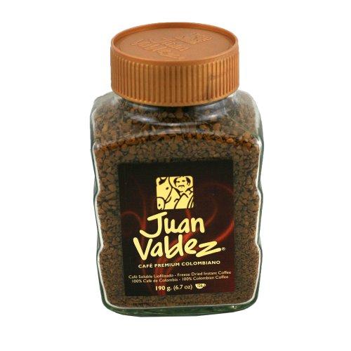 Café Juan Valdez Instantaneo Soluble Liofilizado 190g