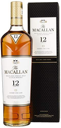 Macallan Sherry Oak 12 Years Old mit Geschenkverpackung (1 x 0.7 l)
