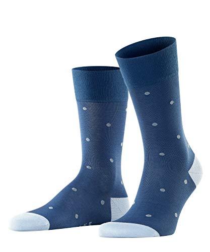 FALKE Herren Dot M SO Socken, Blickdicht, Blau (Paris Blue 6057), 43-46